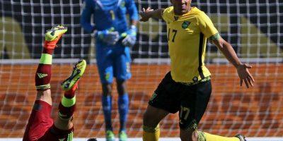 Jamaica, por su parte, también perdió sus dos partidos: 2 a 0 ante México y 1 a 0 frente a Venezuela Foto:Getty Images