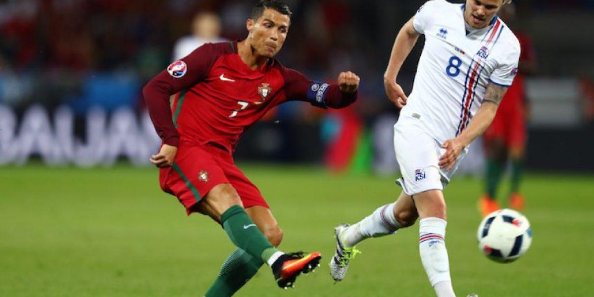 Islandia logra histórico empate con Portugal