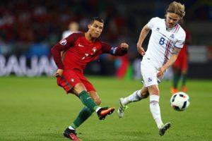 Islandia logra histórico empate con Portugal Foto:Getty Images