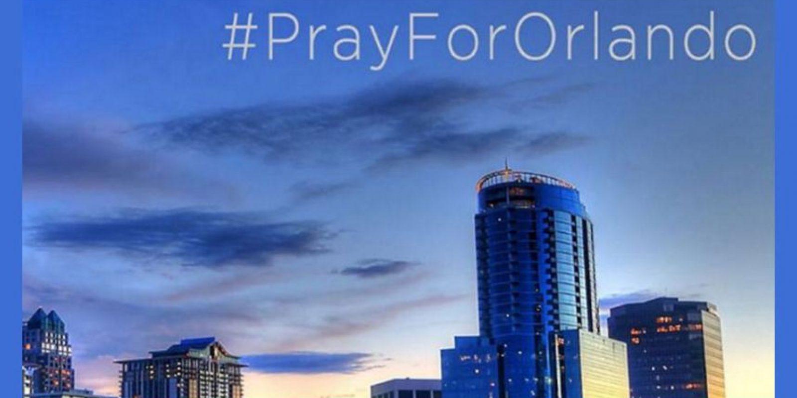 Tras la tragedia en Orlando, Florida, donde murieron 50 personas en un tiroteo. Foto:Facebook