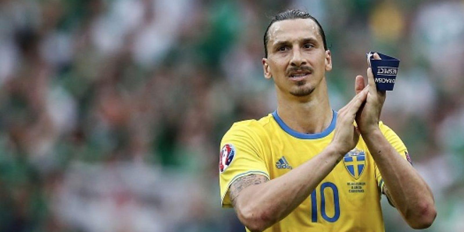 Zlatan Ibrahimovic hará exámenes médicos con Manchester United después de la Eurocopa Foto:Getty Images