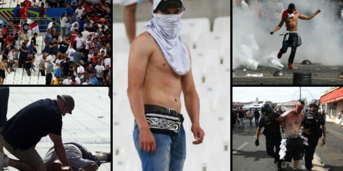 34 heridos y dos presos, el saldo del violento inicio de la Eurocopa
