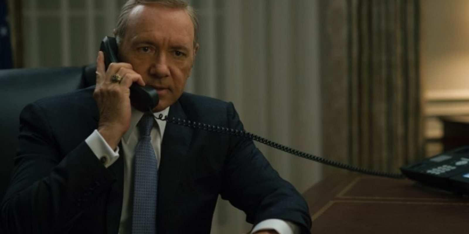 """La quinta temporada de """"House of Cards"""" llegará en febrero de 2017 Foto:Netflix"""