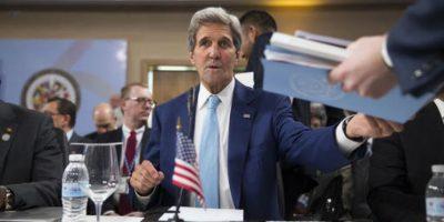 """En Estados Unidos estamos listos y dispuestos a participar"""", adelantó Kerry en referencia a la reunión del Consejo Permanente de la OEA prevista para el 23 de junio en su sede en Washington. Foto:AP/ Archivo"""