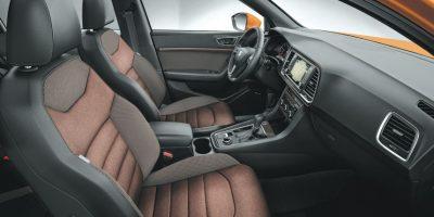 Comodidad y ergonomía son notables en su interio Foto:Seat
