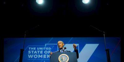 Presidente Barack Obama denunció la doble moral con la que se cataloga y juzga a las mujeres que practican su sexualidad libremente. Foto:AP
