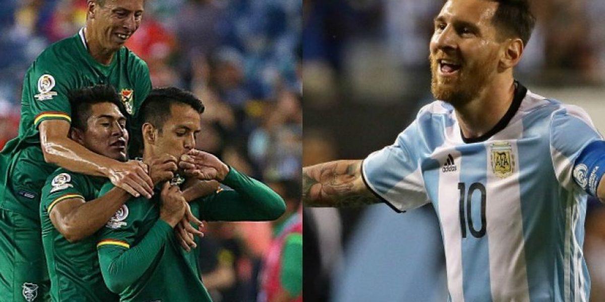 EN VIVO: Argentina y Bolivia cierran la fase de grupos