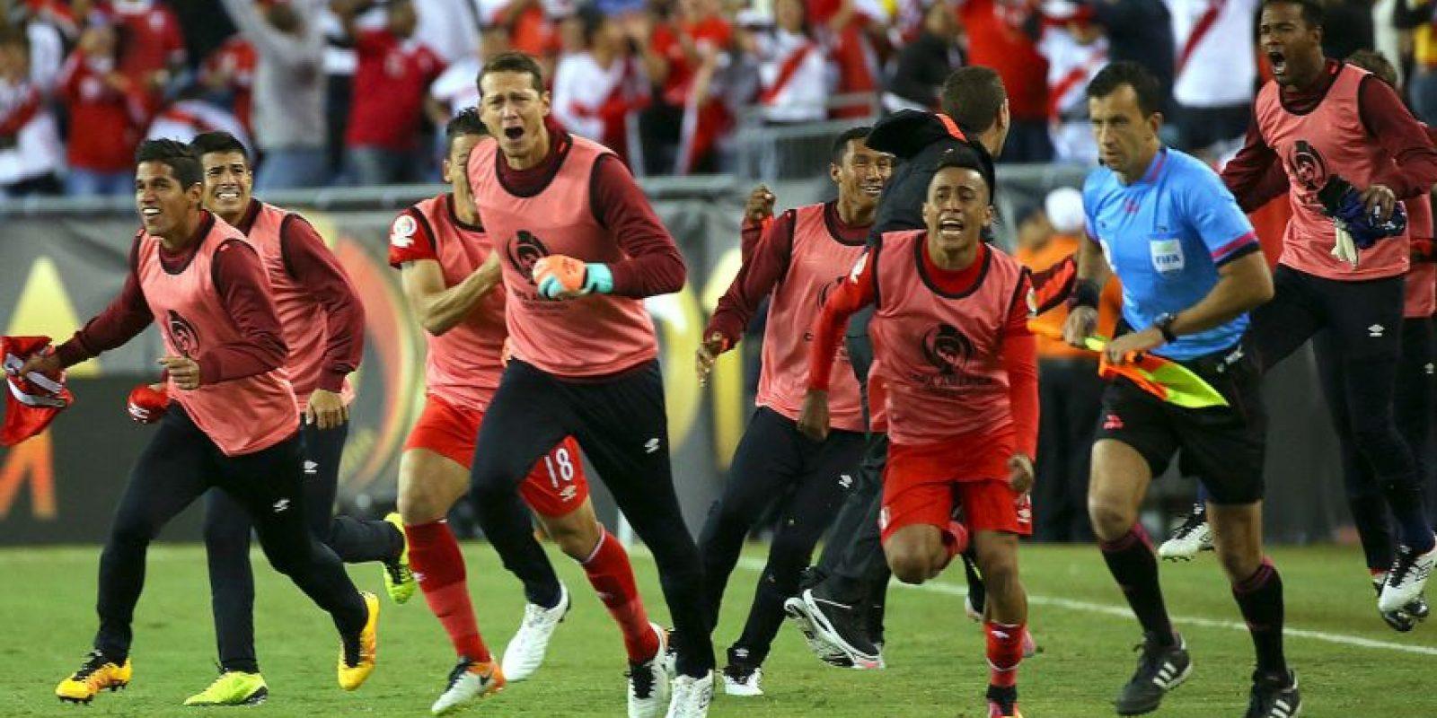 Perú sumó siete puntos tras vencer a Haití y Brasil, además de empatar ante Ecuador Foto:Getty Images