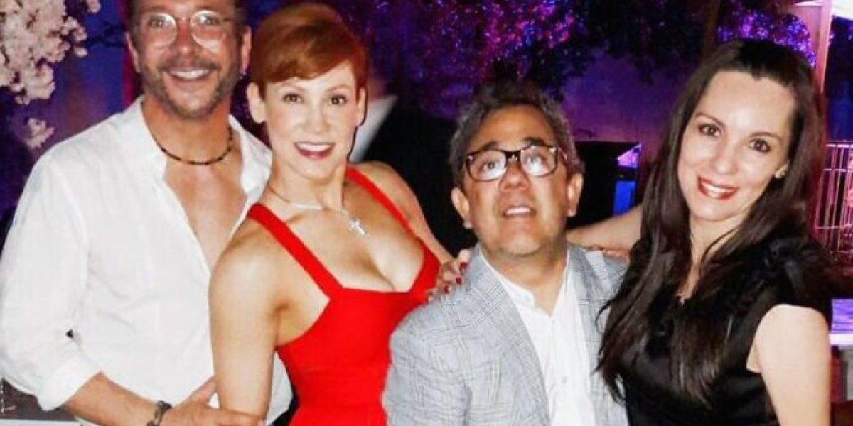 Óscar Burgos estuvo presente en la boda de su ex Karla Panini