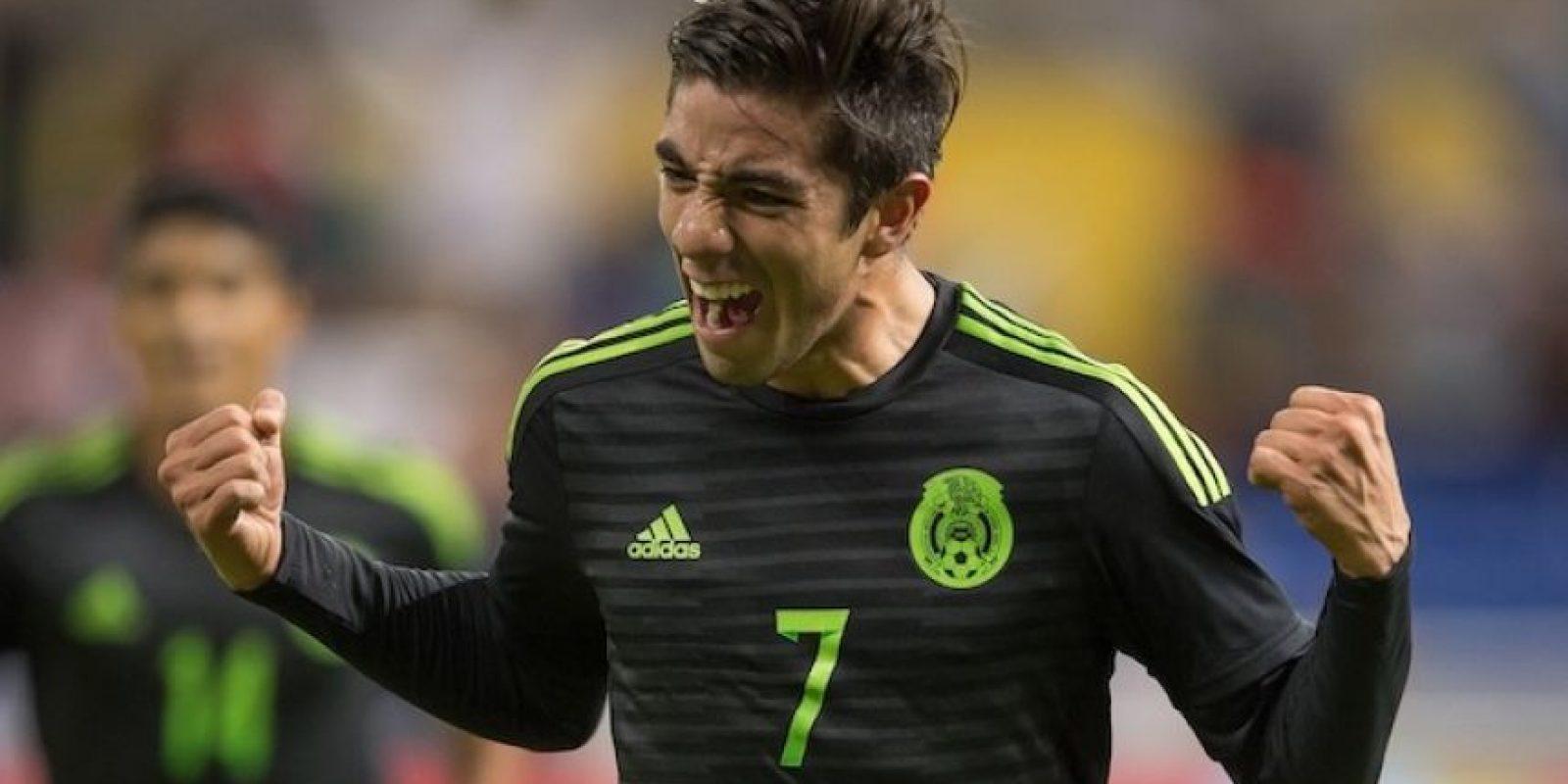 Rodolfo Pizarro tiene 22 años y únicamente ha defendido los colores de los Tuzos. Foto:Mexsport