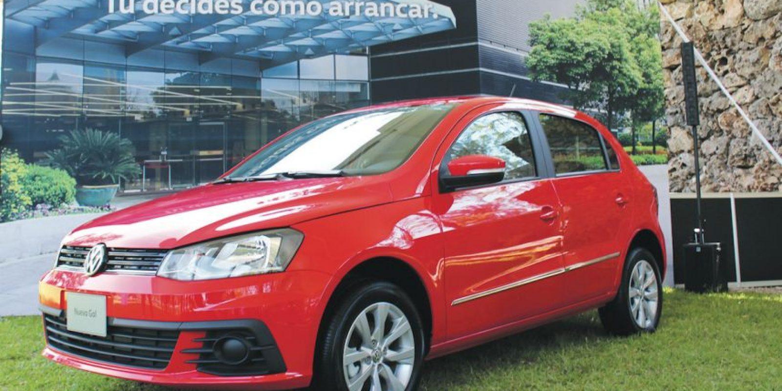Con un look muy dinámico fue presentada la nueva cara de este campeón de ventas de Volkswagen Foto:Mario Cañas