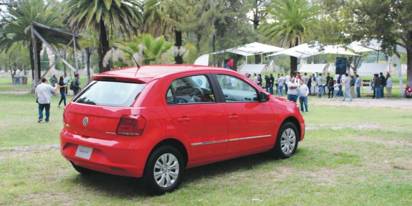 La línea deportiva de este hatchback se une a los recientes lanzamientos dela firma alemana. Foto:Mario Cañas
