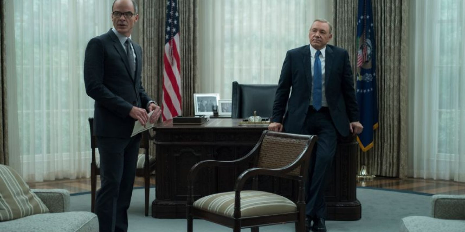 Michael Kelly interpreta el papel de Doug Stamper Foto: Netflix