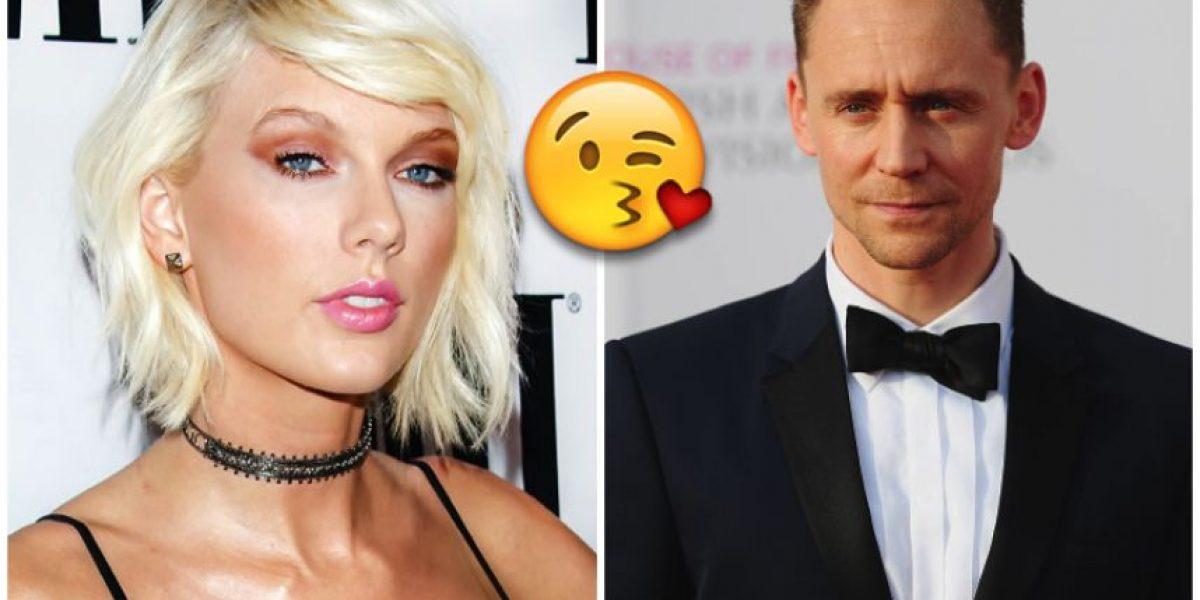 FOTO: Taylor Swift y Tom Hiddleston BESÁNDOSE