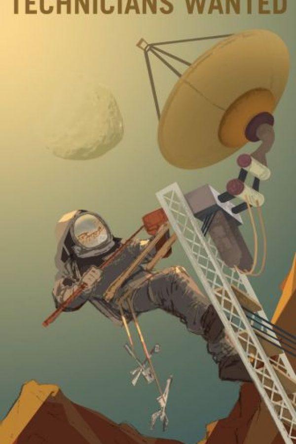 Técnicos e ingenieros Foto:NASA