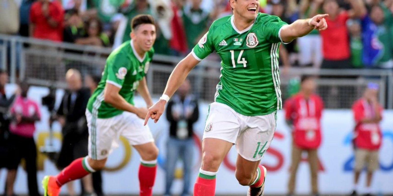 Chicharito es la gran carta de los mexicanos para ser campeones de la Copa América Centenario en Estados Unidos Foto:Getty Images