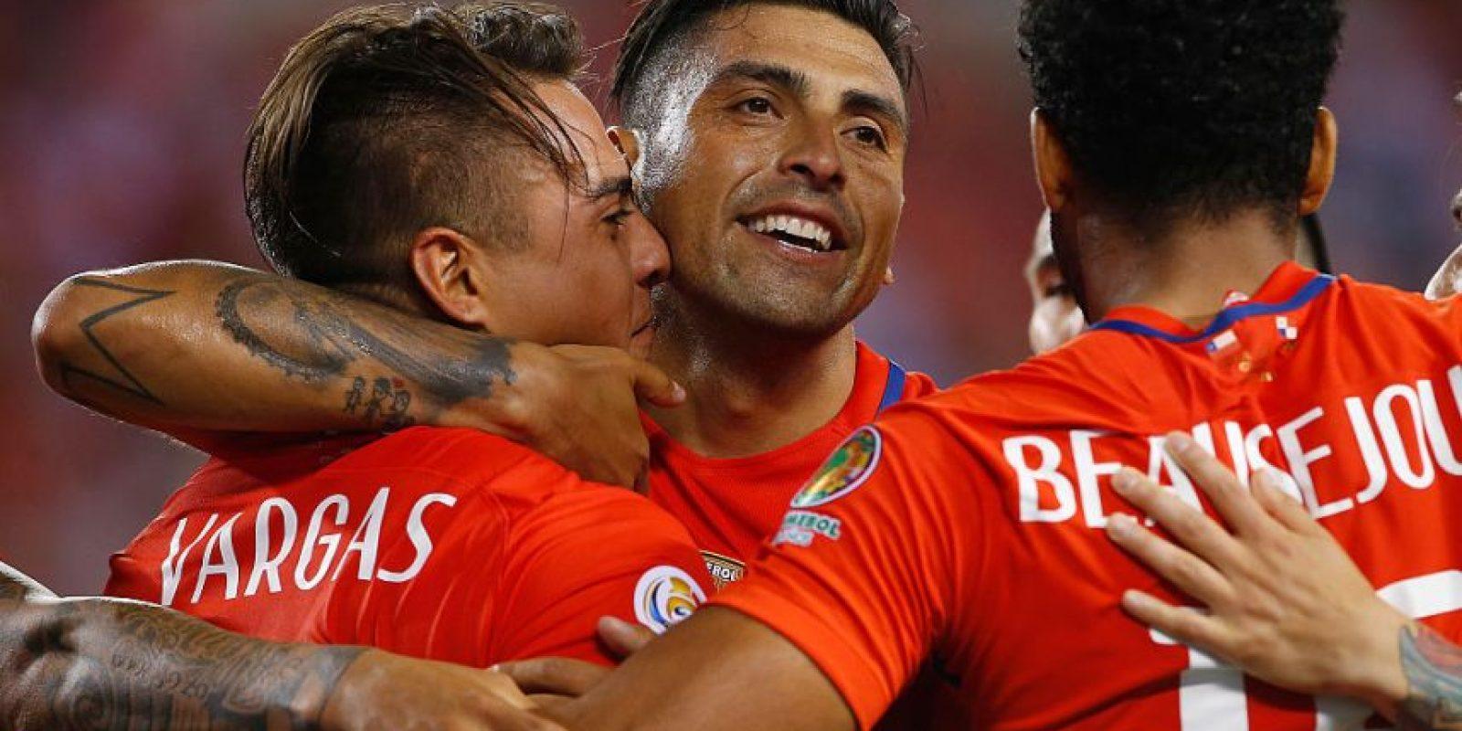 La Roja viene en alza y así lo demostró ante Panamá, donde finalmente pudieron exhibir un juego colectivo Foto:Getty Images