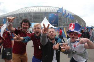 Asi se prepararon los Hooligans para la Eurocopa