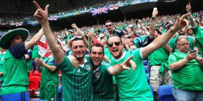 Muere un segundo aficionado en la Eurocopa de Irlanda del Norte Foto:Getty Images