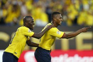 Los ecuatorianos llegan invictos a los cuartos de final y se ilusionan con conseguir su primera Copa América Foto:AFP