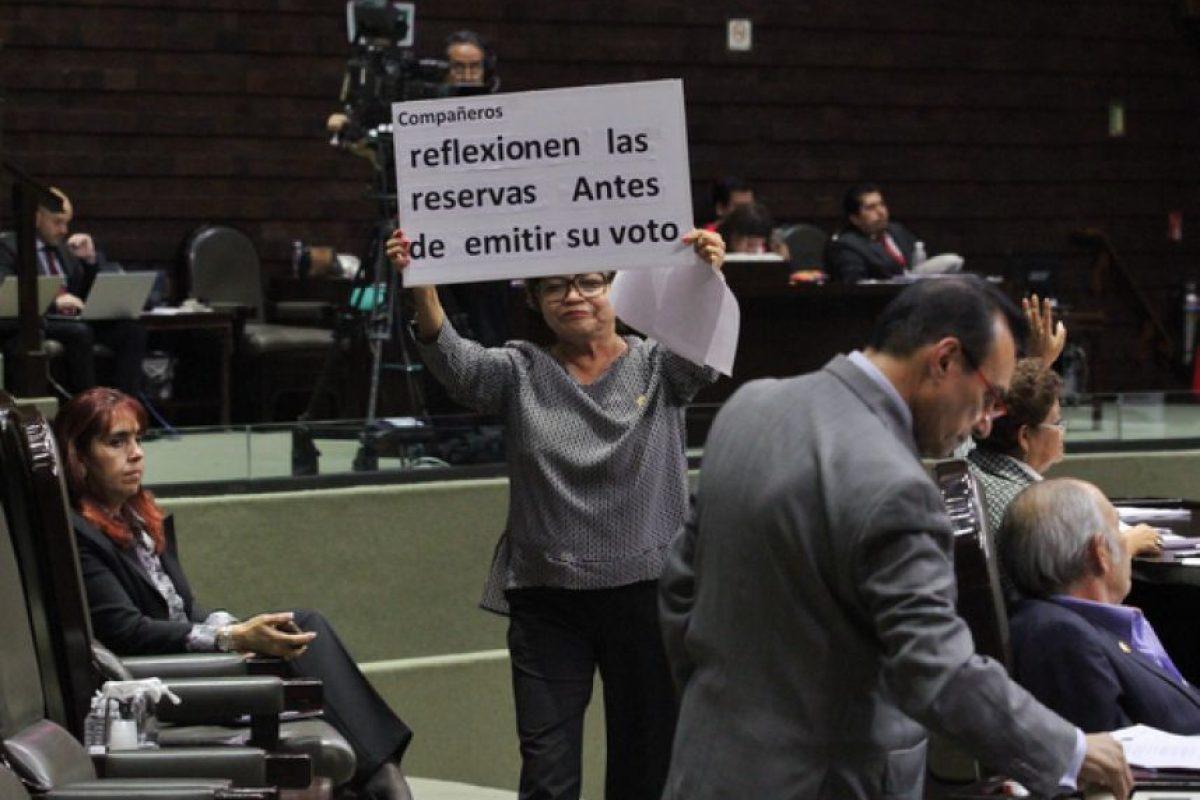 Votación en la Cámara de Diputados Foto:Cuartoscuro