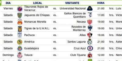 El Clásico Regio se jugará en la Jornada 15. Foto:Liga MX