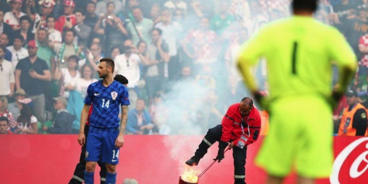 República Checa empata de último minuto a Croacia en final accidentada