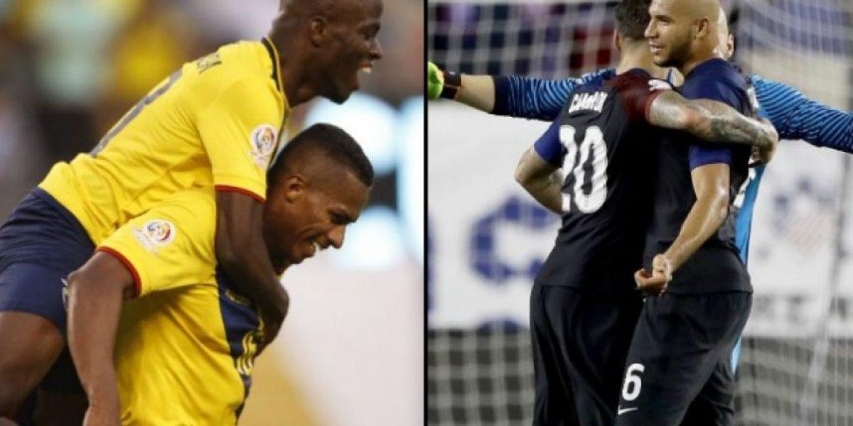Estados Unidos supera a Ecuador en los cuartos de final