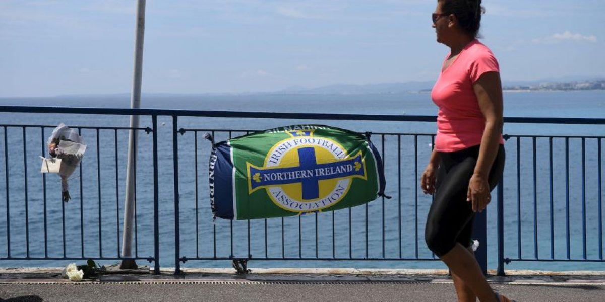 Aficionado fallecido en la Eurocopa recibe emotivo homenaje