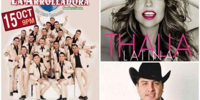 El Auditorio Banamex, la Arena Monterrey y el estadio de Béisbol de Monterrey tendrán invitados la misma noche Foto:Especial
