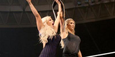 Dana Brook y Charlotte Foto:WWE