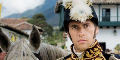 """Iván López interpretó a Simón Bolívar en """"La Pola"""". Foto:RCN"""