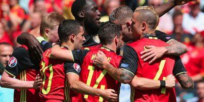 Un doblete de Lukaku y otro tanto de Witsel le dieron la victoria a los belgas. Foto:Getty Images
