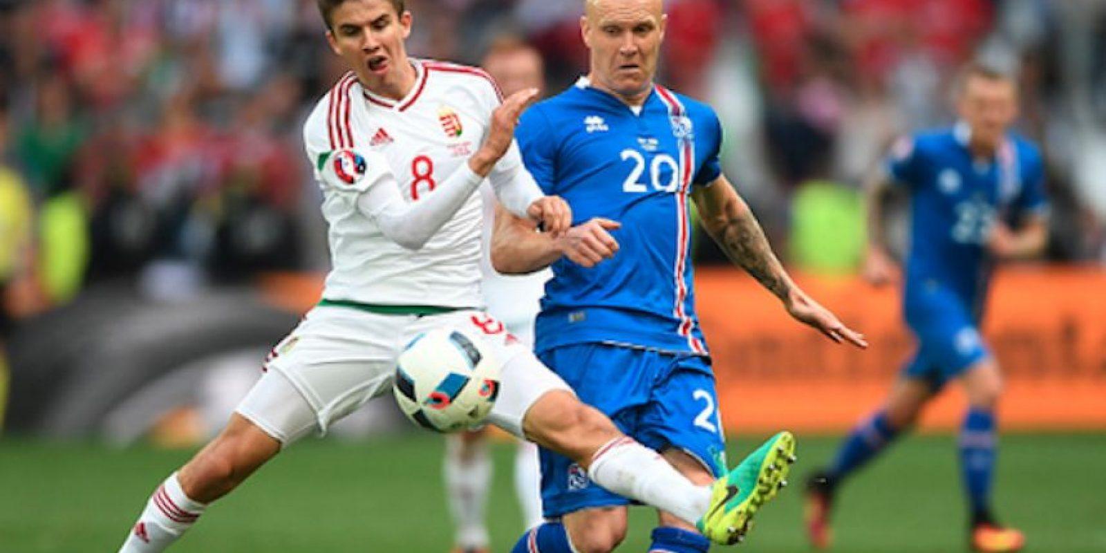 Un autogol de Sævarsson le negó el triunfo a los islandeses. Foto:Getty Images