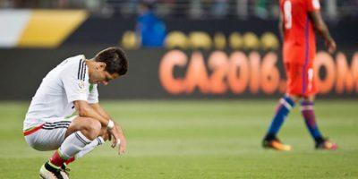 """Javier """"Chicharito"""" Hernández fue el primero en disculparse. Foto:Getty Images"""
