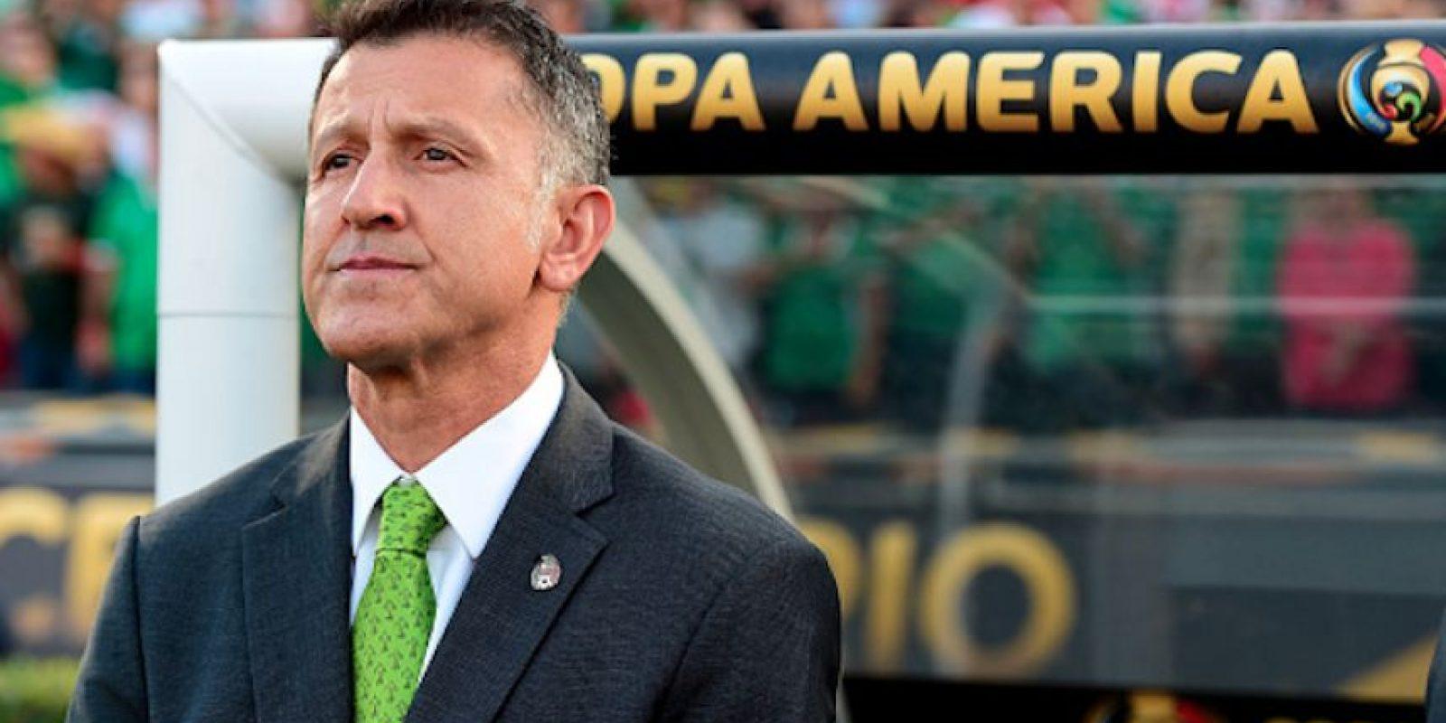 Juan Carlos Osorio vivió la peor derrota de México en un partido oficial. Foto:Getty Images