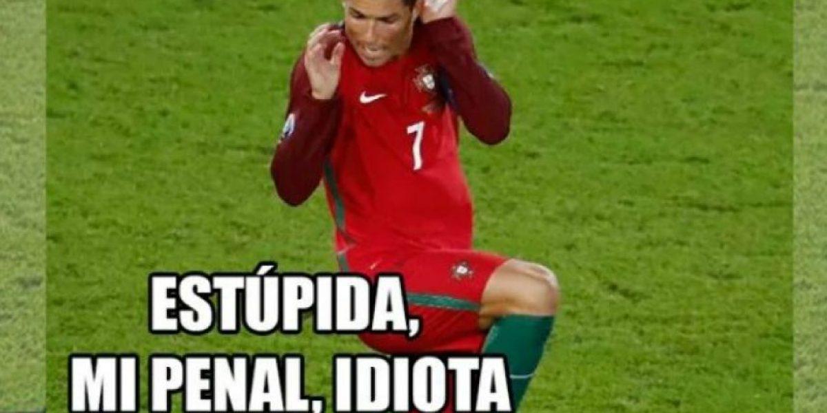 Los memes atacan a Cristiano Ronaldo tras fallar el penal con Portugal