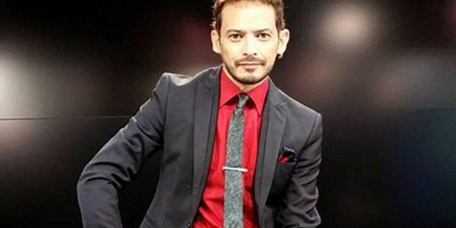 """Alejandro """"Jano"""" fuentes fue finalista en la primera temporada de """"La Voz… México"""" Foto:Televisa"""
