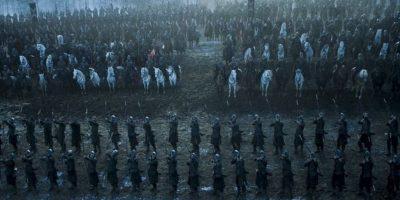 Solo habían 100 extras en el set que se reprodujeron mediante efectos especiales Foto:HBO