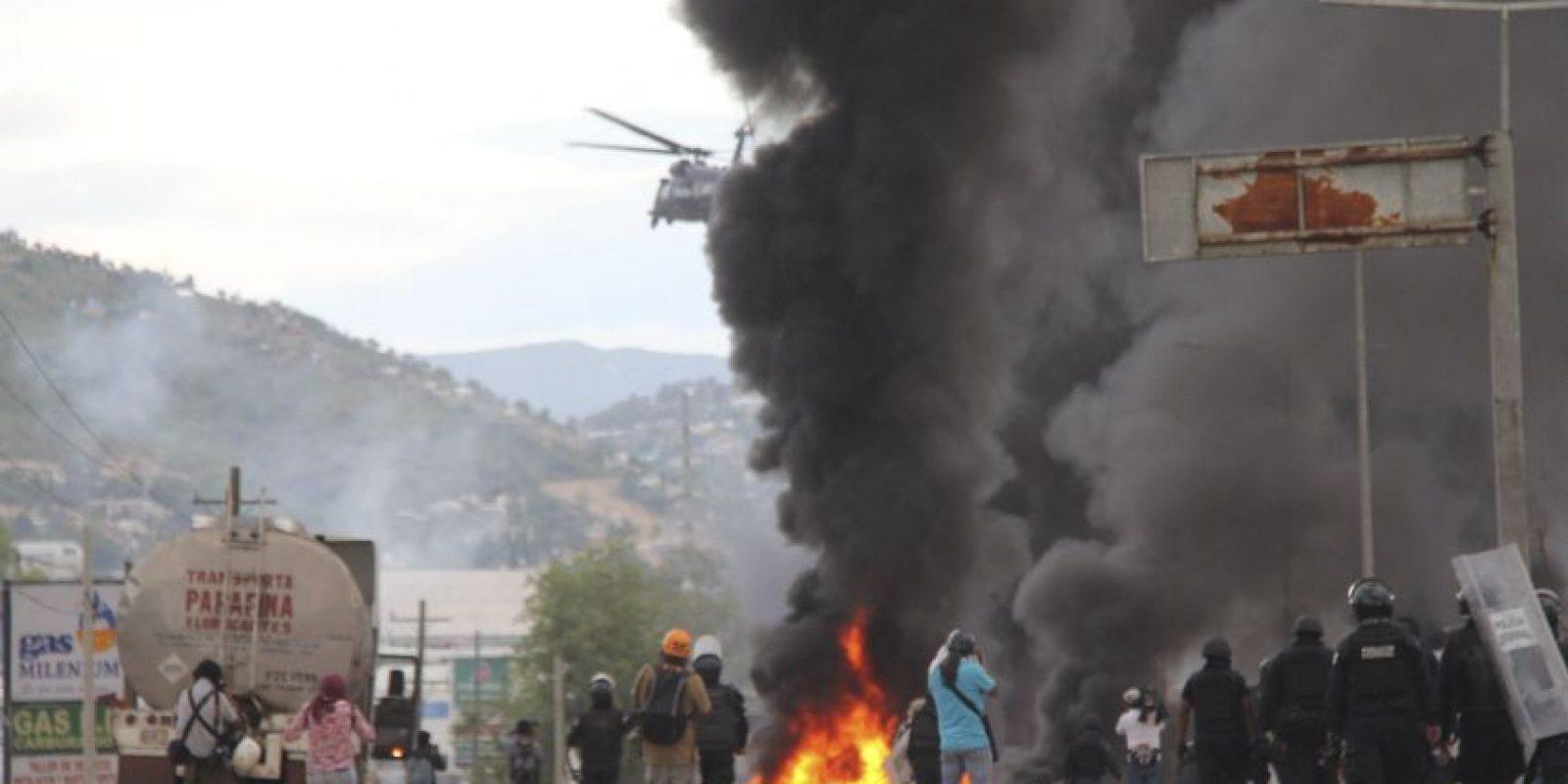 El saldo del enfrentamiento fue de seis personas muertas, 107 heridos y 21 detenidos Foto:Cuartoscuro