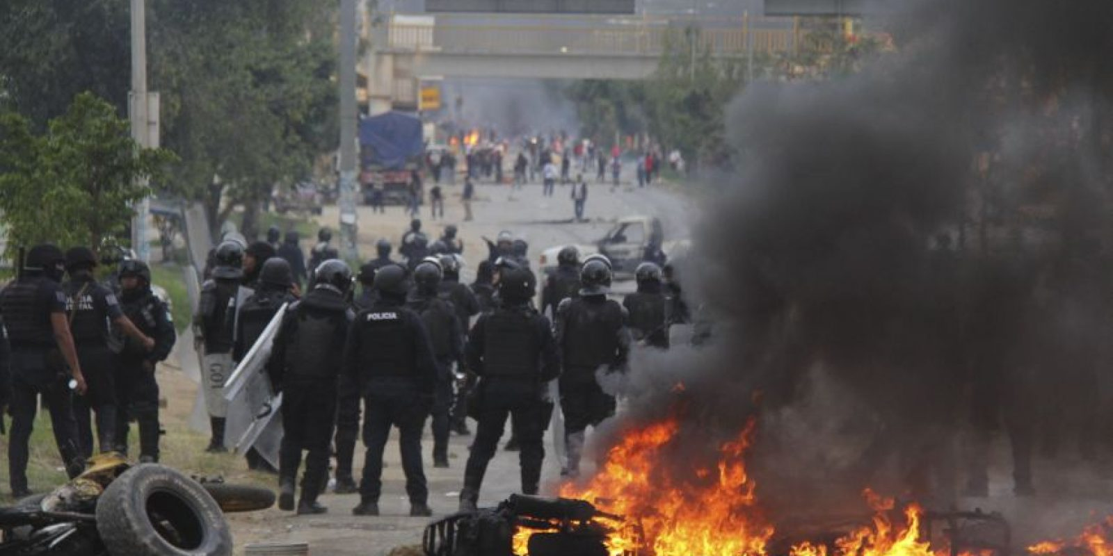 Las autoridades federales dijeron que grupos radicales provocaron la agresión en Nochixtlán, Oaxaca Foto:Cuartoscuro