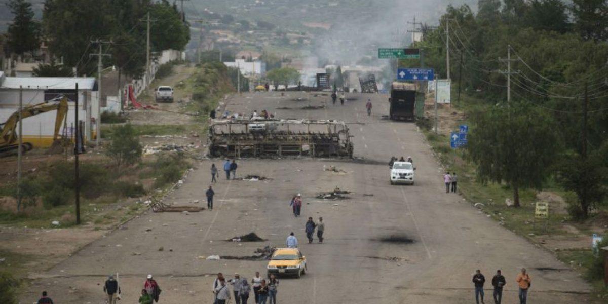 FOTOS: El día después al terror en Nochixtlán