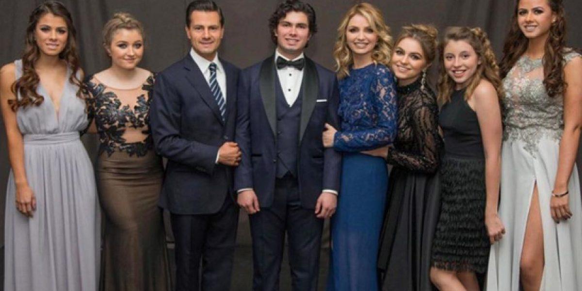 Peña Nieto y toda la familia se van de fiesta