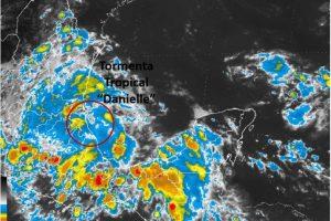 A las 22:15 horas se hará la siguiente actualización del desarrollo de la tormenta. Foto:Conagua