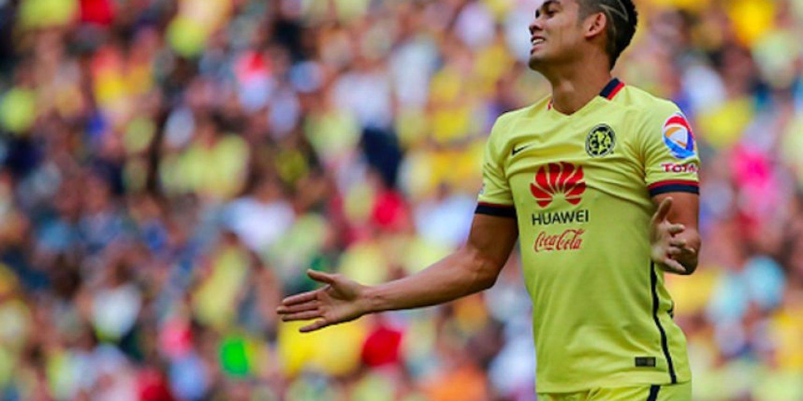 """El """"Rifle"""" Andrade jugó en dos etapas con las Águilas del América. Foto:Getty Images"""