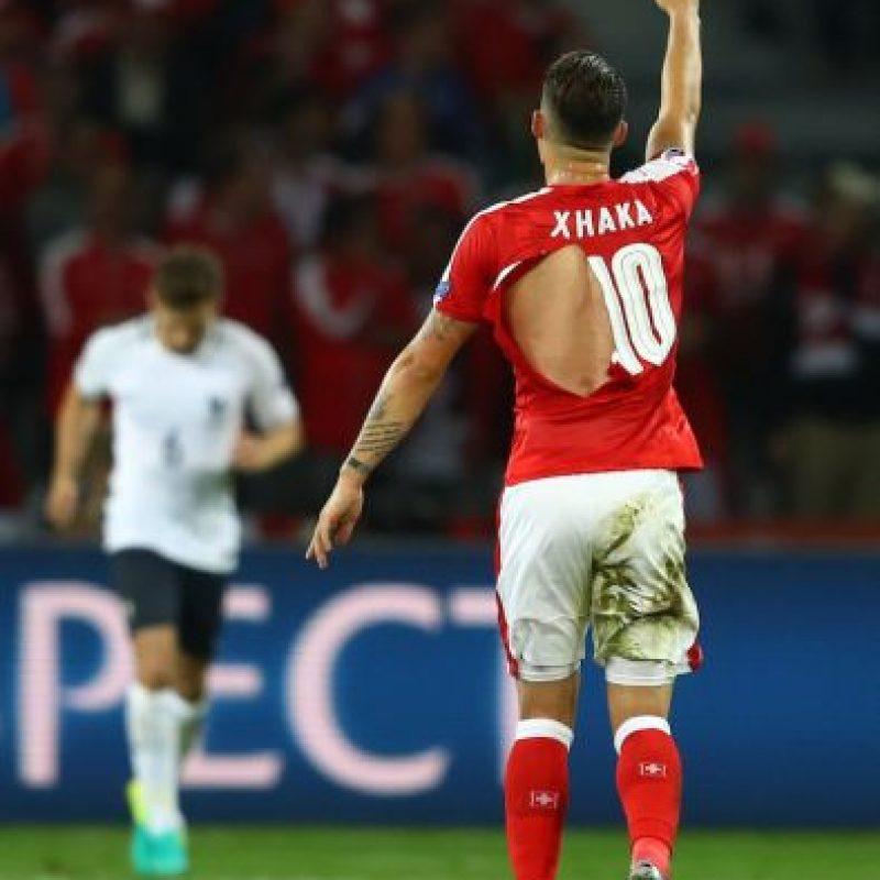 """""""Espero que Puma no haga condones"""", bromea Shaqiri Foto:Getty Images"""