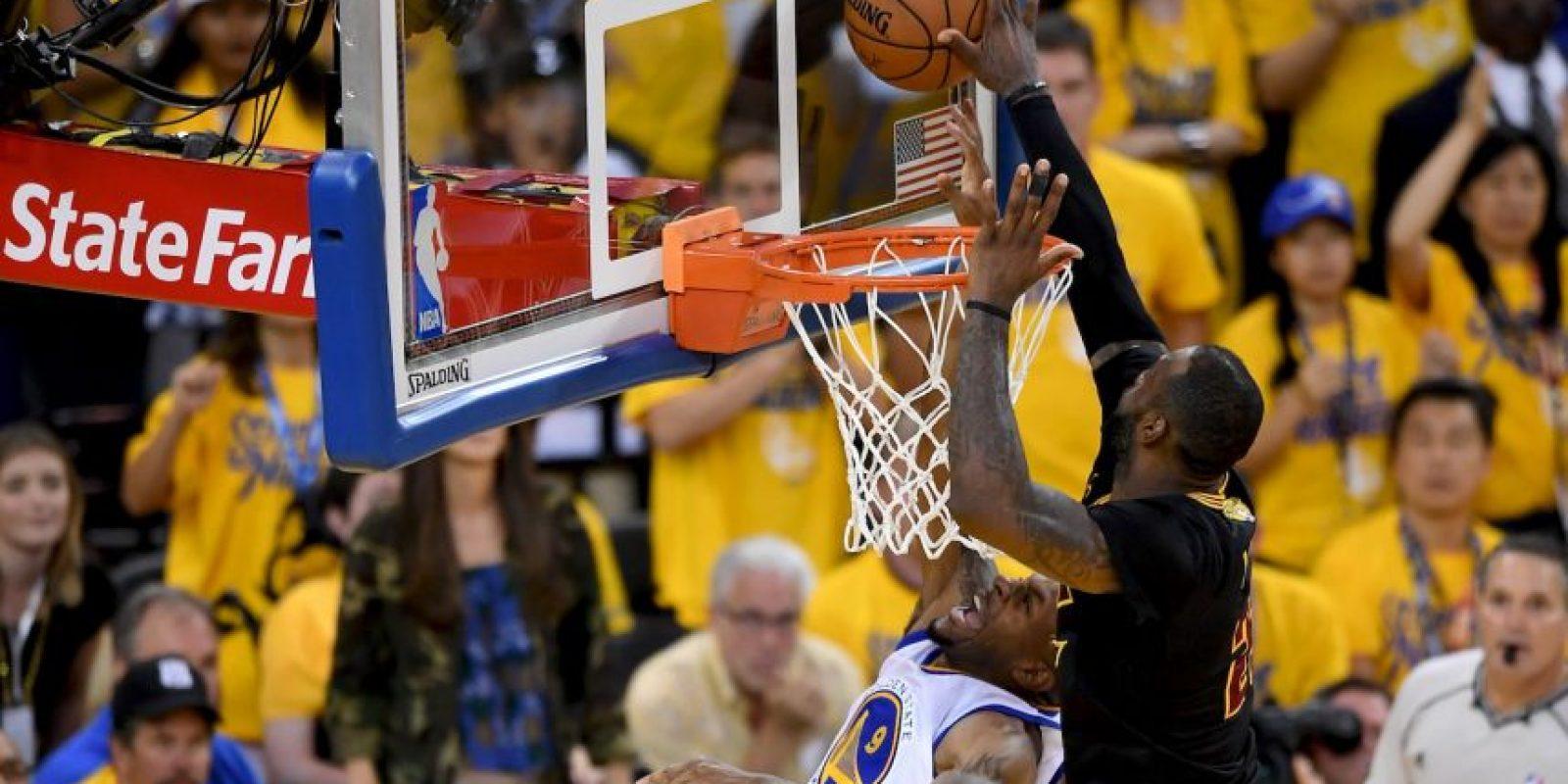 Sin embargo, su tapón crucial a Andre Iguolada en el último ataque de Golden State Warriors Foto:Getty Images