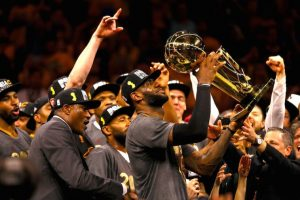 ¡Histórico! LeBron James y los Cavs se coronan en la NBA Foto: Getty Images