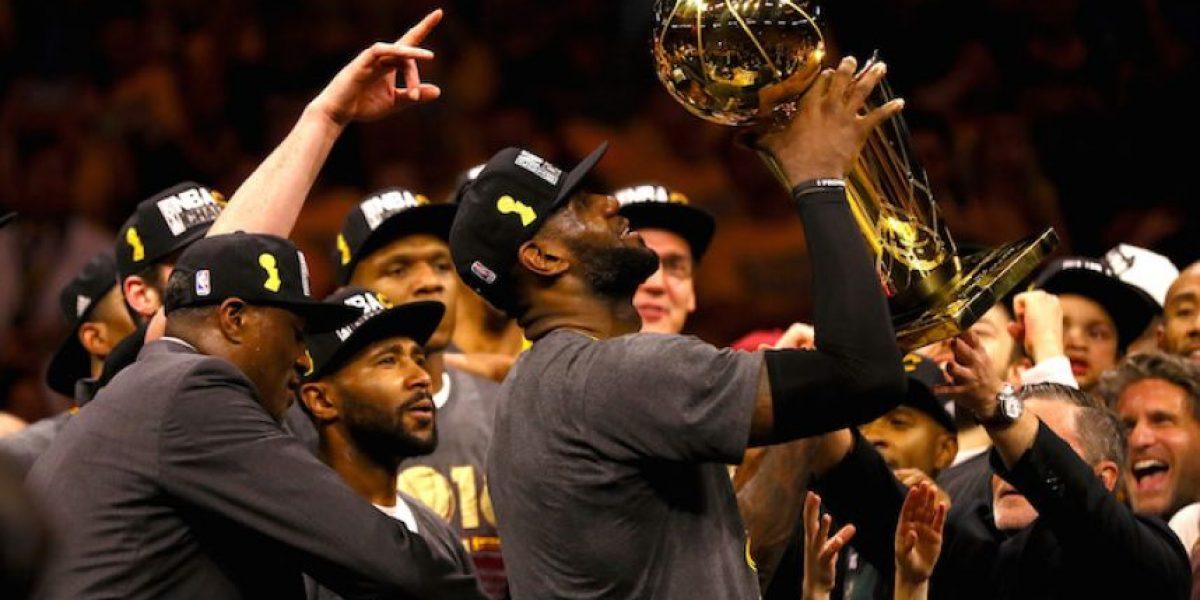 ¡Histórico! LeBron James y los Cavs se coronan en la NBA