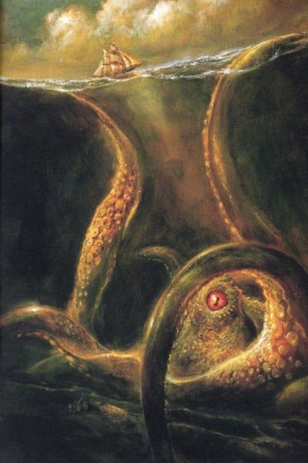 Descrita comúnmente como un tipo de pulpo o calamar gigante que atacaba barcos y devoraba a los marineros. Foto:Wikicommons